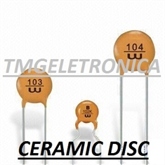180pF - Capacitor Ceramico Disco ,Ceramic Disc Capacitors 50Volts Single layer