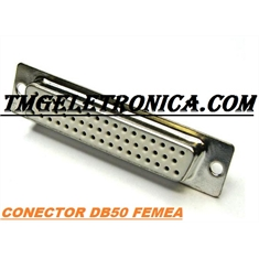 DB50 - Conector 50Vias,Solda Fio Macho OU Femea,D-Sub Connector Plug Female,Male Pins50 Position - Capa DB50 PLASTICA