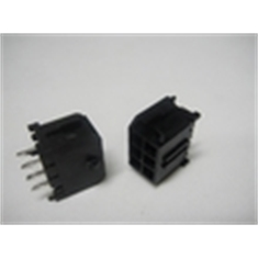 CONECTOR MICRO FIT MACHO PLUG 6VIAS,Connector Micro-Fit 3.0 male plugs, 180º PCI - Conector microfit ,6vias macho p/ PCI 180º