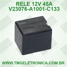 V23076-A1001-C133 12VOLTS - Relê 12V, 45A, SPDT, Automotive Relay,Relé Série K 2VCC, Through Hole Solda, TYCO