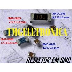 402R - RESISTOR SMD SIZE 0603 - SOLDER PAD DIMENSIONS 1,5Mm x 0,8Mm