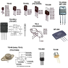 2N4403 Trans GP BJT PNP 40V 0.6A 3-Pin TO-92