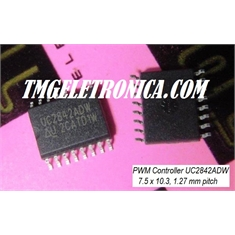 UC2842 - CI PWM BOOST FLYBACK, Current Mode PWM Controller 1A - SOIC (Wide) 16Pinos - UC2842ADW - CI PWM BOOST FLYBACK, Current - SOIC (Wide) 16Pinos