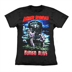 Baby look Avenged Sevenfold - Buried Alive - Tamanho G (54 x 43 cm.)