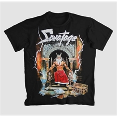 Camiseta Savatage - Hall Of The Mountain King - Tamanho M (72 x 53 cm.)