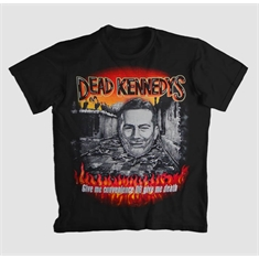 Camiseta Dead Kennedys - Give Me Convenience Or... - Tamanho G (76 x 55 cm.)