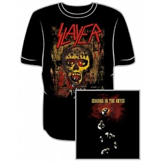 Camiseta Slayer - Seasons In The Abyss - Tamanho GG (78 x 59 cm.)