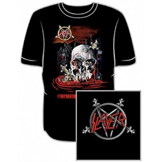 Camiseta Slayer - South of Heaven - Tamanho M (72 x 53 cm.)