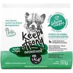 Bifinhos Keep Stronger- Imunidade- Oh La La Pet- 50g - Keep Stronger