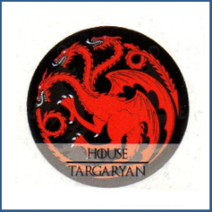 Adesivo House Targaryan- Game of Thrones
