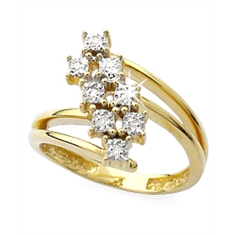 Anel em ouro 18K - REF: AN 477