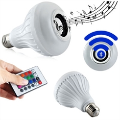 Lâmpada LED Musical Color Bluetooth