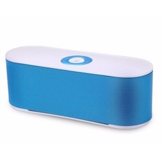 Mini Caixa de Som Bluetooth Speaker S207 - Azul