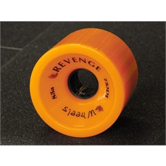 Roda Revenge Speed 75mm 83a - Neon Orange 75mm 83a