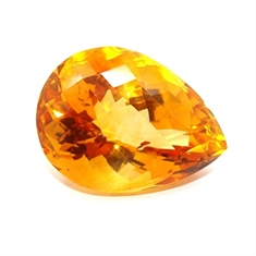 CITRINO AAA LARANJA NATURAL GOTA 39.22CT