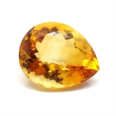 CITRINO AAA AMARELO NATURAL GOTA 40.87CT