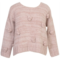 Blusa Valley Tricot Nude CAROL BASSI - 48