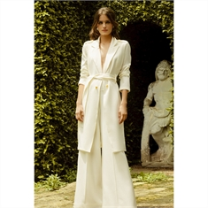 Trench-coat off-white IORANE - 34