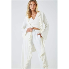 Cardigan Wrap Babado Off-white ANIMALE - G