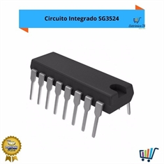 10 X Circuito Integrado Sg3524 N * Dip + Carta Registrada