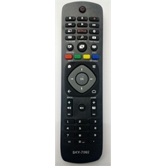 Ci Controle Remoto Tv Philips Smart Netflix Sky-7092 Sky7092