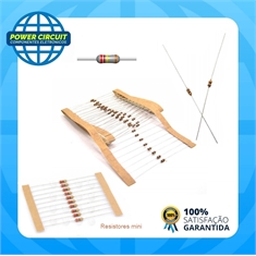 RESISTOR MINI CR20 2K2 5% - Código:11523