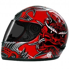 Capacete Norisk WARRIOR GLOSS