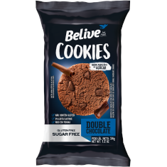 Cookies Double Chocolate Belive Be Free Display 10x40g
