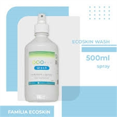 Frasco spray Ecoskin wash sabonete líquido sem enxague 500ml