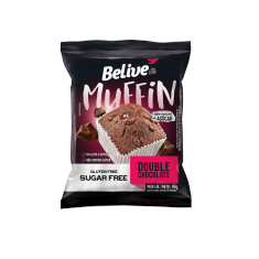 Muffin Double Chocolate Belive Be Free Display 10x40g
