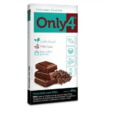 Chocolate Gourmet Only4- Nibs Display 6x80g