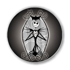 E003 - Jack Skellington - Botton - Botton 4.5 cm